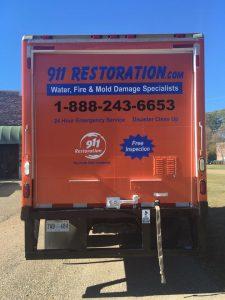 911 Restoration Commercial Response Vehicle