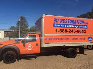 911 Restoration Emergency Response Vehicle